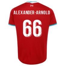 ALEXANDER-ARNOLD #66 LIV 1:1 Home Fans Soccer Jersey 2020/21(UCL Font 欧冠字体)