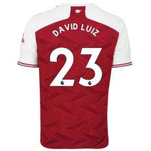 DAVID LUIZ #23 ARS 1:1 Home Fans Soccer Jersey 2020/21(League Font)