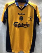 2001 LIV FA CUP FINAL Retro Soccer Jersey