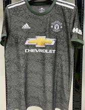2020/21 M Utd 1:1 Quality Away Black Fans Soccer Jersey