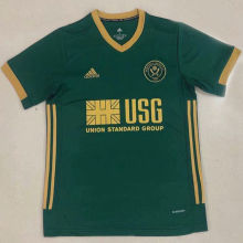 2020/21 Sheffield Away Green Fans Soccer Jersey