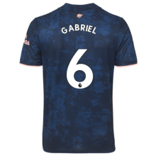 GABRIEL #6 ARS 1:1 Quality Third Blue Fans Soccer Jersey 2020/21(League Font)