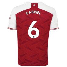 GABRIEL #6 ARS 1:1 Home Fans Soccer Jersey 2020/21(League Font)
