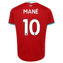 MANE #10 Liverpool 1:1 Home Fans Soccer Jerseys 2020/21(League Font)