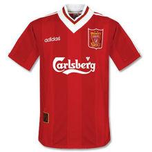 1995-96 LIV Home Retro Soccer Jersey