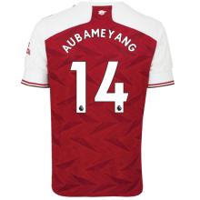 AUBAMEYANG #14 ASN 1:1 Home Fans Soccer Jersey 2020/21(League Font)