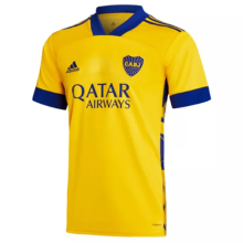 2020/21 Boca Third Yellow Fans Soccer Jerseys