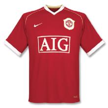 2006-2007 M Utd Home Retro Soccer Jersey