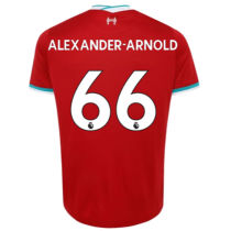 ALEXANDER-ARNOLD #66 LIV 1:1 Home Fans Soccer Jerseys 2020/21(League Font)