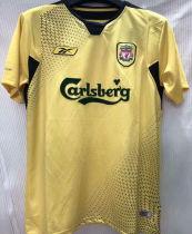 2004-2005 LIV Away Yellow Retro Soccer Jersey