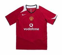 2006 M Utd Home Retro Soccer Jersey