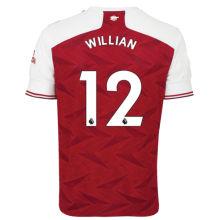 WILLIAN #12 ARS 1:1 Home Fans Soccer Jersey 2020/21(League Font)