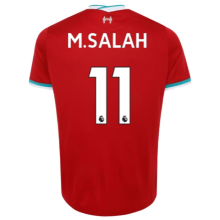 M.SALAH #11 LIV 1:1 Home Fans Soccer Jerseys 2020/21(League Font)