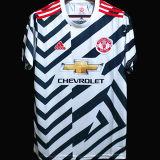 2020/21 M Utd 1:1 Quality Third Zebra Fans Soccer Jersey