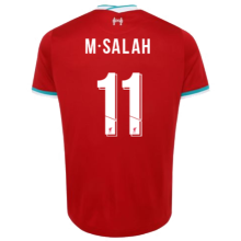 M.SALAH #11 LIV 1:1 Home Fans Soccer Jersey 2020/21(UCL Font 欧冠字体)