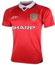 1999 M Utd Home Retro Soccer Jersey