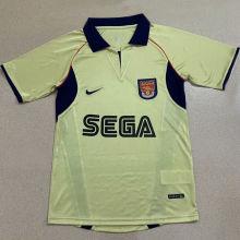 2002 ARS Away Yellow Retro Soccer Jersey
