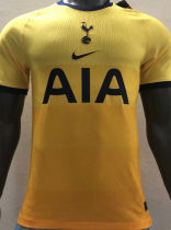 2020/21 TH FC Away Yellow Player Version Soccer Jersey