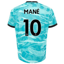MANE #10 LIV 1:1 Away Blue Fans Soccer Jerseys 2020/21(League Font)