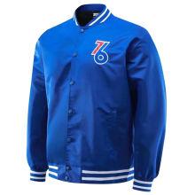 2021 76ers Hip-Hop Style Blue Wind Jakcet
