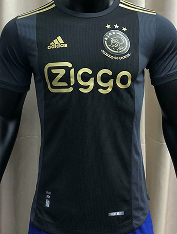 2020/21 Ajax 50th Black Palyer Soccer Jersey