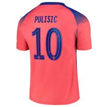 PULISIC #10 CFC 1:1 Third Fans Soccer Jersey 2020/21 (UCL Font 欧冠字体)