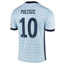 PULISIC #10 CFC 1:1 Away Fans Soccer Jersey 2020/21 (UCL Font 欧冠字体)