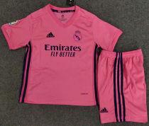 2020/21 RM Away Pink Kids Soccer Jersey