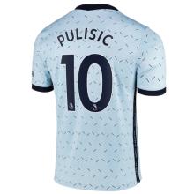 PULISIC #10 CFC 1:1 Away Fans Soccer Jersey 2020/21 (League Font)