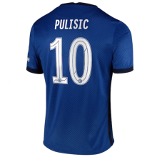 PULISIC #10 CFC 1:1 Home Fans Soccer Jersey 2020/21 (UCL Font 欧冠字体)