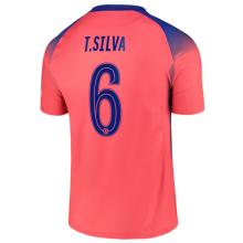T.SILVA #6 CFC 1:1 Third Fans Soccer Jersey 2020/21 (UCL Font 欧冠字体)
