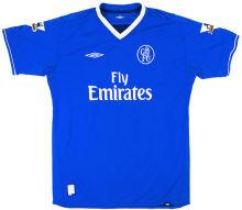 2003-2005 CFC Blue Home Retro Soccer Jersey
