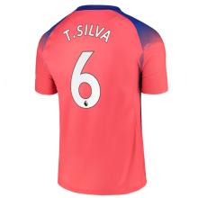T.SILVA #6 CFC 1:1 Third Fans Soccer Jersey 2020/21 (League Font)