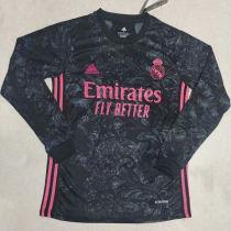 2020/21 RM Away Black Long Sleeve Soccer Jersey