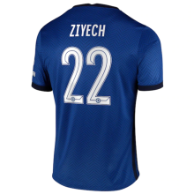 ZIYECH #22 CFC 1:1 Home Fans Soccer Jersey 2020/21 (UCL Font 欧冠字体)