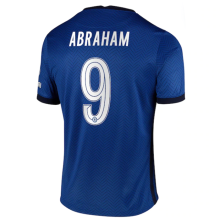 ABRAHAM #9 CFC 1:1 Home Fans Soccer Jersey 2020/21 (UCL Font 欧冠字体)