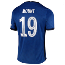 MOUNT #19 CFC 1:1 Home Fans Soccer Jersey 2020/21 (UCL Font 欧冠字体)