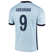 ABRAHAM #9 CFC 1:1 Away Fans Soccer Jersey 2020/21 (UCL Font 欧冠字体)