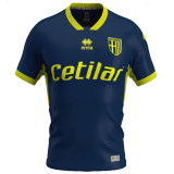 2020/21 Parma Away Black Fans Soccer Jersey