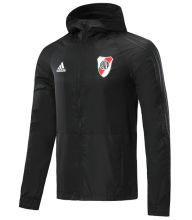2020/21 River Plate Black Windbreaker