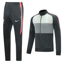 2020/21 LIV Black And Grey Jacket Tracksuit