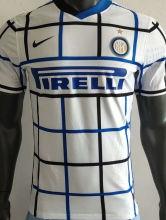 2020/21 In Milan Away WHite Player Version Soccer Jersey