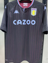 2020/21 Aston Villa 1:1 Quality Away Black Fans Soccer Jersey