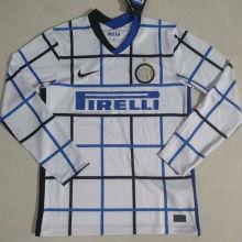 2020/21 In Milan WHite Long Sleeve Soccer Jersey