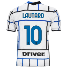 LAUTARO #10 In Milan 1:1 Away Fans Soccer Jersey 2020/21 (Have DRIVER)