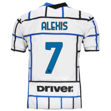 ALEXIS #7 In Milan 1:1 Away Fans Soccer Jersey 2020/21 (Have DRIVER)