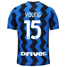 YOUNG #15 In Milan 1:1 Home Fans Soccer Jersey 2020/21 (Have DRIVER)