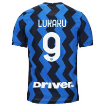 LUKAKU #9 In Milan 1:1 Home Fans Soccer Jersey 2020/21 (Have DRIVER)