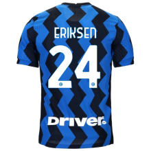 ERIKSEN #24 In Milan 1:1 Home Fans Soccer Jersey 2020/21 (Have DRIVER)
