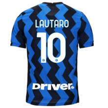 LAUTARO #10 In Milan 1:1 Home Fans Soccer Jersey 2020/21 (Have DRIVER)
